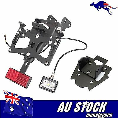 Fender Eliminator Plate Bracket Holder Tail Tidy for Suzuki GSXR1000 2015 15