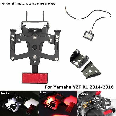 Fender Eliminator Plate Bracket Tail Tidy for Yamaha YZF R1 2014 2015 2016
