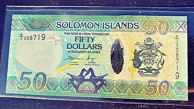 Solomon Islands 50 Dollars UNC