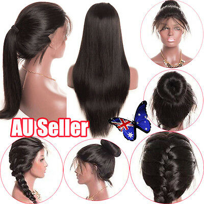 Simulated Hair Full Lace Women Body Wave Glueless Lace Wigs Baby Hair BO