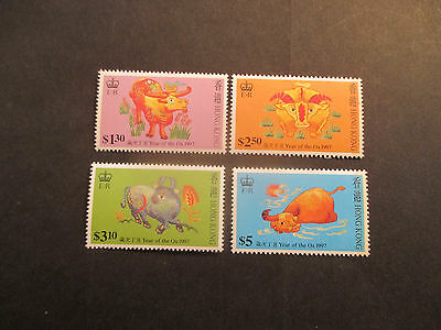 Stamps  Hong Kong  1997  The Year Of The Ox  --Mint  F/s  --Muh --A1