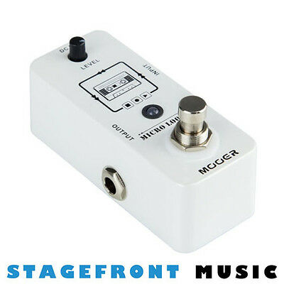 Mooer Micro Looper Loop Recording Micro Guitar Effects Pedal