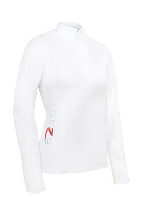 Horze Women's Showoff Long Sleeve Competition Shirt - Horse Riding Clothing