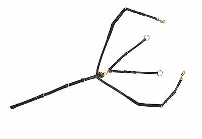 Norton Elastic Hunting Breastplate With Martingale