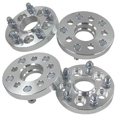 4PCS 20mm Hub Centric 5X100 To 5X112 M14X1.5 Wheel Spacers Adapters FOR VW Golf