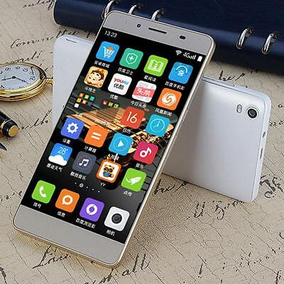 "M5 5"" Unlocked Dual SIM Android Smartphone Qcta Core 8GB Cell Phone US Plug x"
