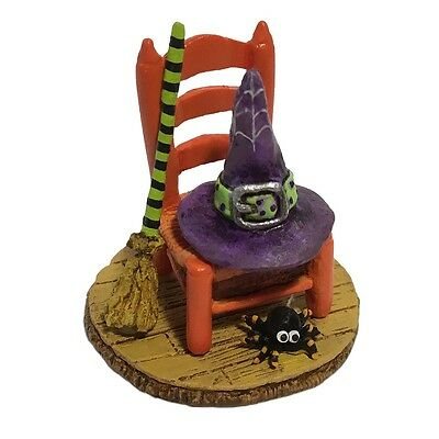 Wee Forest Folk Halloween - Witchy's Hip Hat & Broom A-38