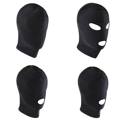Unisex Sexy Hood Headgear Mask Lingerie Cosplay Role Play Halloween Costume