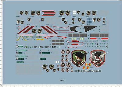 1/72 decals for F-14A TOMCAT ACE COMBAT (64109)