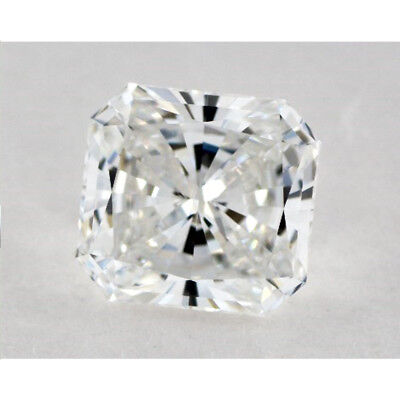 Fiery 2.19 ct 7.70 mm VVS1 I-J Square Radiant Cut Loose Moissanite AUD