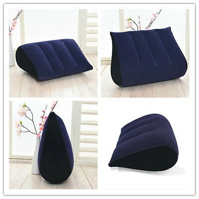 Sex Pillow Aid Wedge Inflatable Triangle Love Position Cushion Couple Furniture