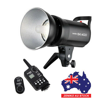 AU Godox SK400 400W Studio Strobe Flash Light + FT-16 Wireless Trigger Kit