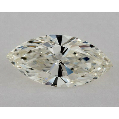 Fiery 6.50 ct 19.10 x 9.80 mm VVS1 J-K Marquise Cut Loose Moissanite AUD