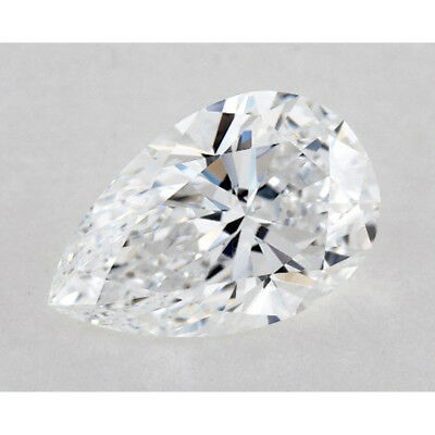 Nice 0.80 ct 7.30 x 5.75 mm VVS1 F-G Pear Cut Loose Moissanite AUD