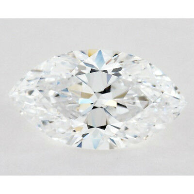 Nice  0.83 ct 9.75 x 4.80 mm VVS1 F-G Marquise Cut Loose Moissanite AUD