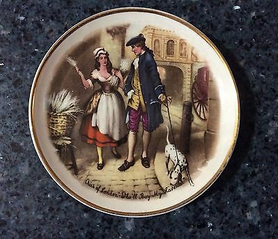 "Old Foley James Kent Embossed ""CRIES OF LONDON"" Small Plate Made in England"