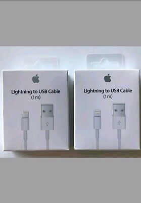 Original Genuine Apple Lightning to USB Charger Cable for iPhone 6s/Plus/5/SC