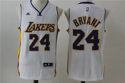 Nba Kobe Bryant Los Angeles Lakers #24 Swingman Jersey White