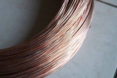 5 metres uncoated Copper Wire 2.0mm 12G AWG plating, jewellery, craft etc