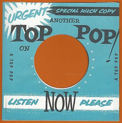 TOP POP (uk demo) REPRODUCTION RECORD COMPANY SLEEVES - (pack of 10)