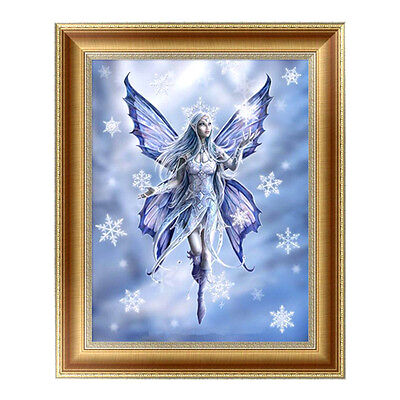 Ice Snow Wizard DIY 5D Diamond Painting Embroidery Cross Crafts Stitch Home Deoo