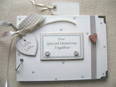 OUR SPECIAL MEMORIES.....A5 SIZE.30 pages  PHOTO ALBUM/SCRAPBOOK/MEMORY BOOK