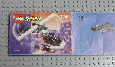 LEGO INSTRUCTIONS MANUAL BOOK ONLY 1246 Helicopter  x1PC