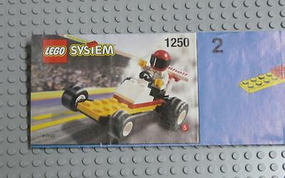 LEGO INSTRUCTIONS MANUAL BOOK ONLY 1250 Dragster  x1PC