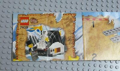 LEGO INSTRUCTIONS MANUAL BOOK ONLY 7409 Secret of the Tomb  x1PC