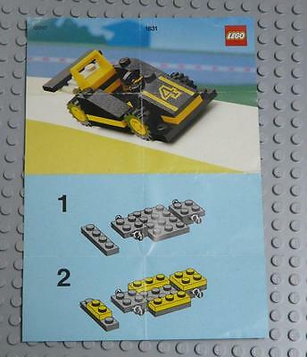 LEGO INSTRUCTIONS MANUAL BOOK ONLY 1631 Black Racer  x1PC