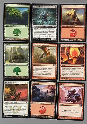 Magic the gathering MTG lot of 18 mixed cards < Free Postage > lot 30