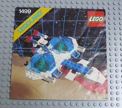 LEGO INSTRUCTIONS MANUAL BOOK ONLY 1499 Twin Starfire x1PC