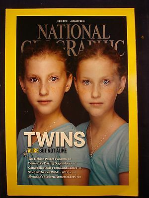 National Geographic - January 2012 - Twins