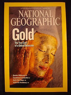 National Geographic - January 2009 - Gold
