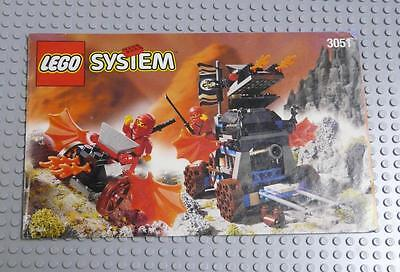 LEGO INSTRUCTIONS MANUAL BOOK ONLY 3051 Blaze Attack x1PC