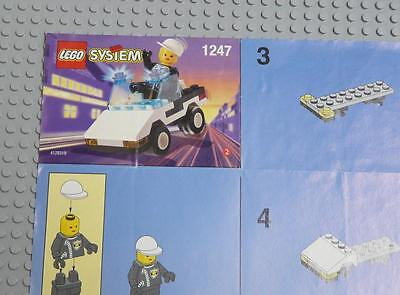 LEGO INSTRUCTIONS MANUAL BOOK ONLY 1247 Patrol Car x1PC