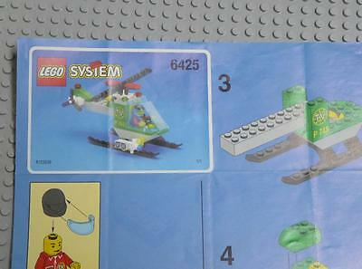 LEGO INSTRUCTIONS MANUAL BOOK ONLY 6425 TV Chopper x1PC
