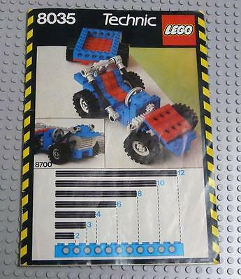 LEGO INSTRUCTIONS MANUAL BOOK ONLY 8035 Building Set x1PC