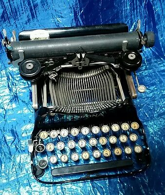 Corona 3 Antique Typewriter With Original Case - 1917 - Great Condition & F.w.o