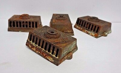 Set of 4 Victorian Iron Door Bells For Repair