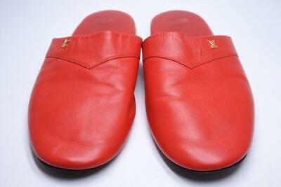 85fac0034b8 New RARE Supreme X Louis Vuitton Red Hugh Slippers Slip On Shoes Size 8