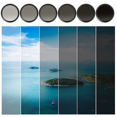 KF Concept® 58mm Slim Variable ND Neutral Density Filter Adjustable Fader ND2 N