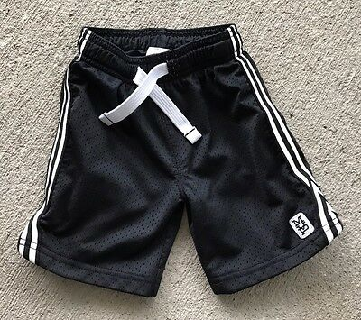 Toddler Boy Carter's Black Athletic Shorts, Size 4t