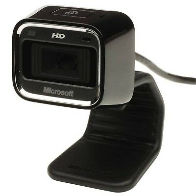 Microsoft Lifecam HD-3000 For Business Webcam 720P HD With Built In Mic (T4H-000