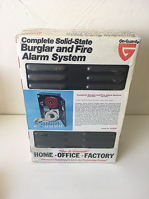 Vintage On-Guard Model 820BF alarm system w/ Medallion Sys. model 65-514 Power S