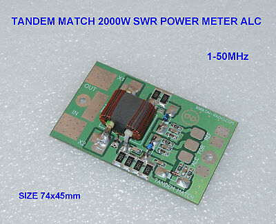 TANDEM MATCH 2000W 2KW SWR POWER METER amplifier LDMOS MOSFET BLF188XR VRF2933