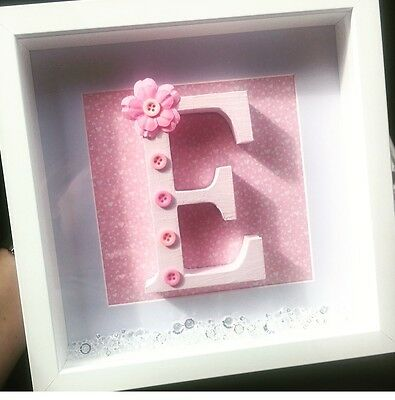 personalised boxed frame for girl