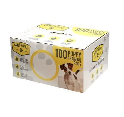 New 100 Puppy Training Ultra Absorbent Protection Puppies Pads Three Layer Dogs