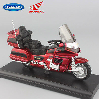 1:18 scale Child's Honda Gold Wing touring motorcycles small model Cruiser toys