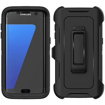 For Samsung Galaxy S7 Edge Case with Belt Clip | Fits Otterbox DEFENDER SERIES